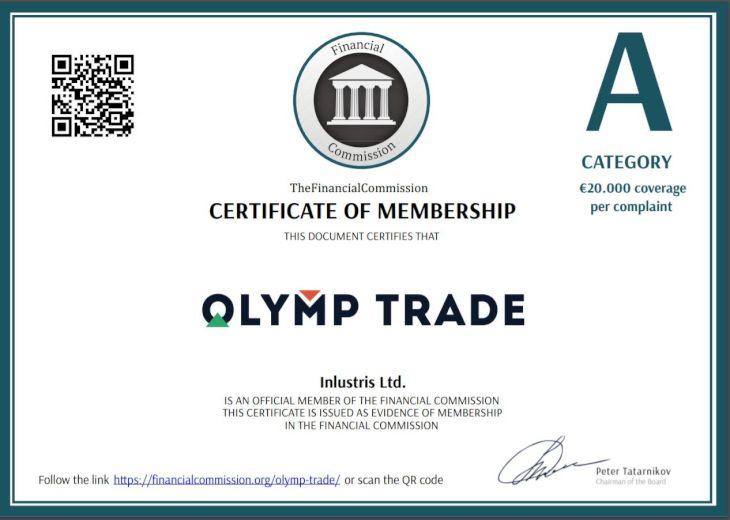 Olymp Trade có uy tín hay không?